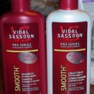Lot of 4 Vidal Sasson Pro Series Smooth Shampoo + Cond. #415