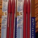 Lot of 2 Maybelline Expert Eyes Twin Brow & Eye Pencil #104 Lt Brown #348