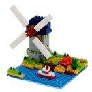 NANOBLOCK Molen Kinderdijk-Elshout The windmill of kinderdijk NBH043 Netherlands