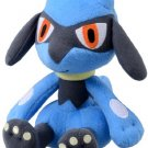 "Takaratomy Pokemon N-41 Black and White Rioulu 7"" Plush Toy"