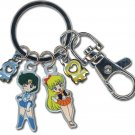 Sailormoon Sailor Mercury And Venus Metal Keychain