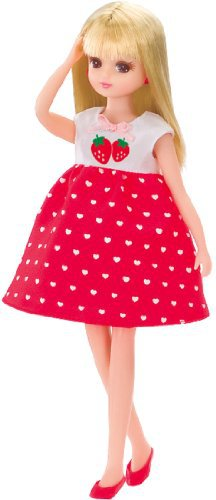 Licca LD-02 Strawberry Heart Piece(Japan Import)