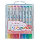 Cleo pilot crayon roll Lameili color 8 colors set AO-CR6L-S8 (japan import)