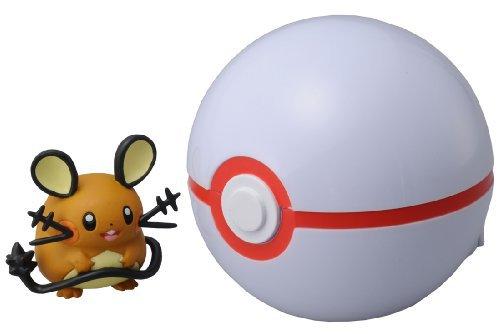 Toy: Takaratomy Pokemon Monster Dedenne 2/ Pokeball