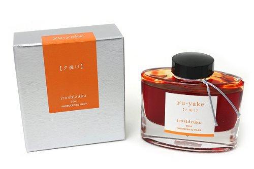Ink: Pilot Iroshizuku Fountain Pen Ink 50 ml Bottle Yu-yake Sunset