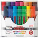 Uni Prockey Bold Marker Pen 15-color Set PM150TR15CN(Japan Import)