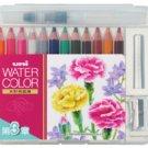 Uni Mitsubishi Watercolor Pencil 12 color Chapter 3 UWCNCS12C3 (Japan Import)