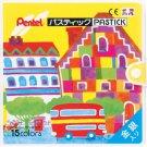 Pentel 15 colours Pastic, GC1-15 (Japan Import)