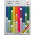 Sakura Coupy Pencil 18 Colored Pencils Standard PFY 18