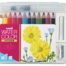 Uni Mitsubishi Pencil Watercolors 12 Compact Colors UWCNCS12C1