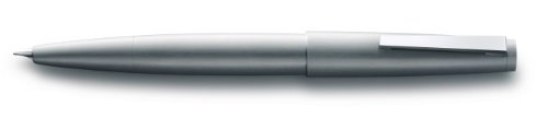 Lamy 2000 Stainless Steel Fountain Pen - Stainless Steel Medium Nib L02M