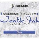 Sailor Jentle Blue Ink Cartridge