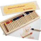 Stockmar Beeswax 24 Stick Crayons in Wooden Storage Case
