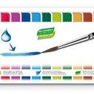 Caran d Ache - Fancolor Tempera - 15 Colors