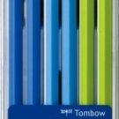 Tombow - New Ippo Kids-Friendly Wooden Pencil Set - Navy Blue Light Green