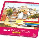 Mitsubishi Pencil Co Ltd - Uni  Pencil Water color 24 color set UWC24C
