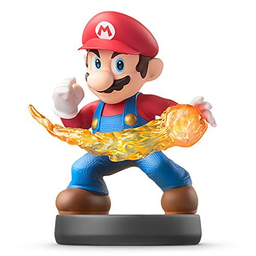 Nintendo Wii U 3DS Amiibo Mario Super Smash Bros. [Japan Import]