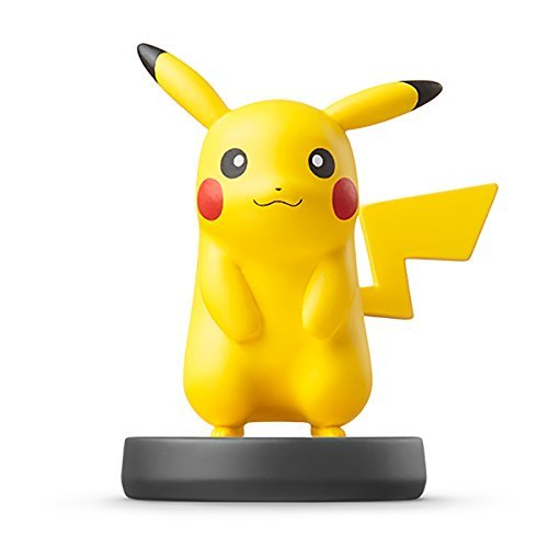 Nintendo Wii U 3DS Amiibo Pikachu Super Smash Bros. [Japan Import]