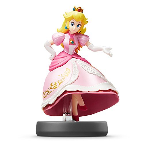 Nintendo Wii U 3DS Amiibo Princess Peach Super Smash Bros. [Japan Import]