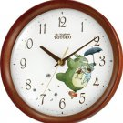 Clock: My Neighbor Totoro Rhythym Wall Clock [Japan Import]