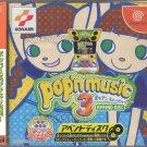Konami - Pop n Music 3 Append Disc - Sega Dreamcast