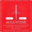AUGUSTINE KMC Music Inc CLASSIC-RED MEDIUM TENSION CLASSICAL GUITAR STRINGS