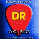 DR Strings Cool Blue Coated Electric Strings Lite (9-42)