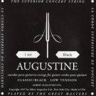 Augustine AUGBLKSET Nylon Classical Guitar Strings Light