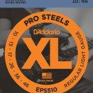 DAddario EPS510 ProSteels Electric Guitar Strings Regular Light 10-46