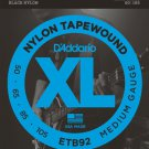 DAddario ETB92 Tapewound Bass Guitar Strings Medium 50-105 Long Scale