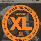 DAddario EHR310 Half Round Electric Guitar Strings Regular Light 10-46