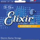 Elixir W.L. Gore & Associates Strings Electric Guitar 6 Medium NANOWEB Coating