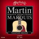 Martin M2100 Marquis Phosphor Bronze Acoustic Strings Light