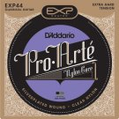 DAddario EXP44 Coated Classical Guitar Strings Extra Hard Tension