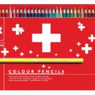 CREATIVE ART MATERIALS - Caran dAche - Swisscolor Pencils Metal Box Set Of 40