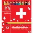 Swisscolor Pencils Metal Box Set Of 18