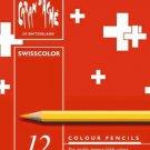 Swisscolor Pencils Metal Box Set Of 12