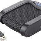 Plantronics - Calisto P420 USB Speakerphone - Black/Silver