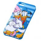 Disney Character 3D Relief iPhone 5 Case (Donald & Daisy Duck)