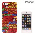 RUN A co ltd - Disney Character Custome iPhone 5 Case (Oh! Mickey and Friends)