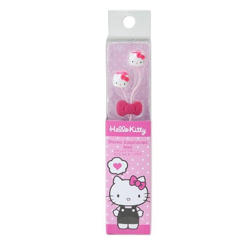 Sanrio - Hello Kitty mascot earphone