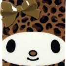 Gourmandise - Sanrio My Melody 3D TPU iPhone 5 Case with Ears (Leopard/Brown)
