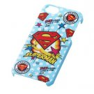 Ray Out - Superhero Characters Hard iPhone 5 Case (Superman/Blue)
