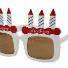 Party goods and disguise birthday sunglasses (japan import)