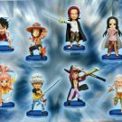 All eight species set One Piece World Collectable Figure ha (japan import)