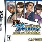 Capcom - Nitendo DS - Phoenix Wright Ace Attorney Trials and Tribulations