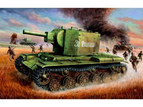 Trumpeter 1/35 Soviet KV2 Tank
