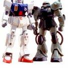Gundam 08MS RX-79 Gundam vs. MS-06J Zaku II Scale 1/144