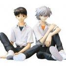 Shin Seiki Evangelion Shinji and Kaworu 1/8 scale PVC figure [Japan Import]