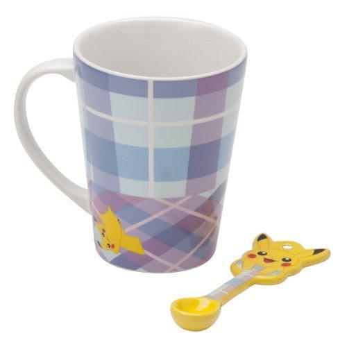 Pokemon Center Original spoon with mug Pikachu